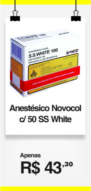 ANESTESICO LOCAL 50TBS(NOVOCOL)SSWHITE