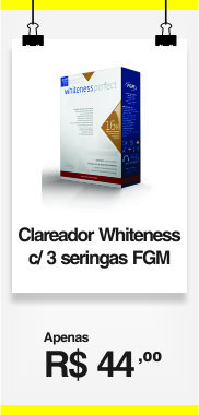 CLAREADOR WHITENESS PERF 16% MINI KIT C/3 SERINGAS