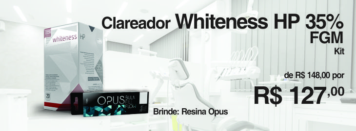 CLAREADOR WHITENESS HP P/3 35%+RES OPUS BULK FILL